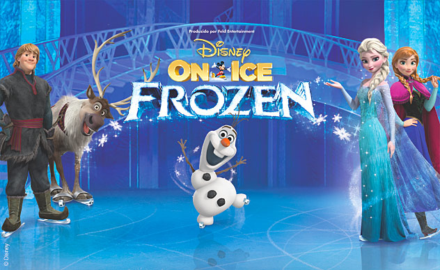 DISNEY ON ICE apresenta: FROZEN