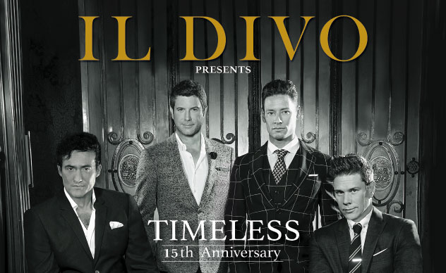IL DIVO presents TIMELESS 15th Anniversary