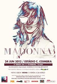 Madonna Ao Vivo 24 Junho 2012  - Estádio C. Coimbra MAD_12_202x295_poster