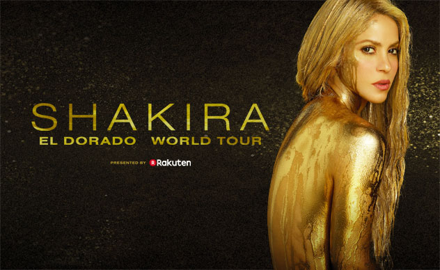 SHAKIRA - EL DORADO WORLD TOUR: 28 JUN, Altice Arena
